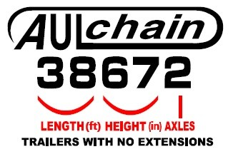 Aulick Chain Floor model numbers