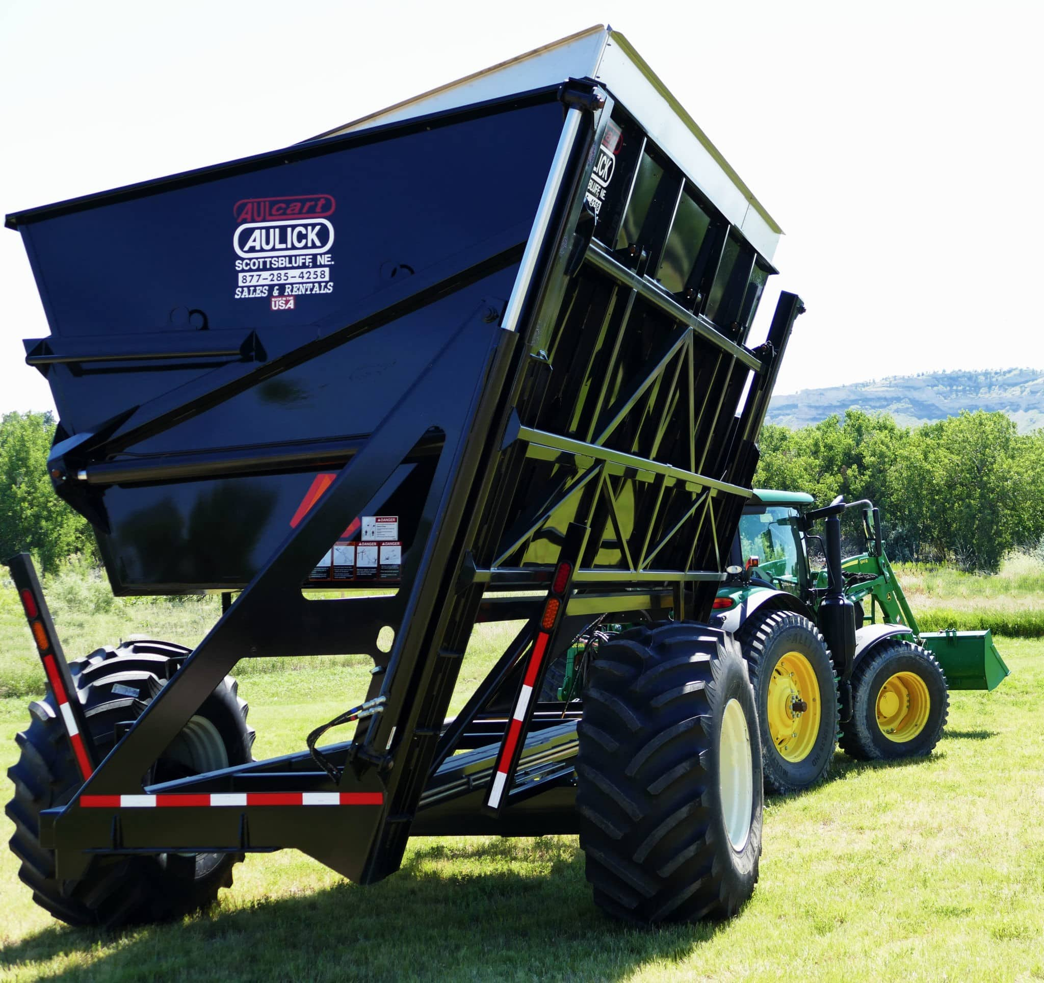 Aulick High Lift Dump Cart