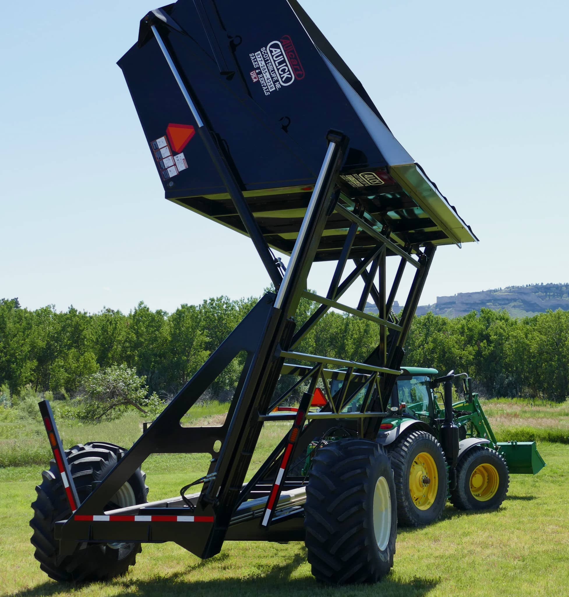 Aulick Industries High Lift Dump Cart