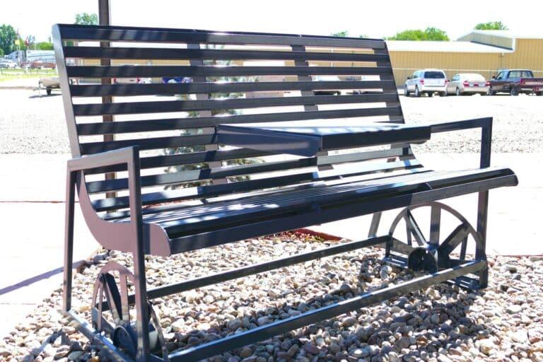 Aulick Industries Steel Bench