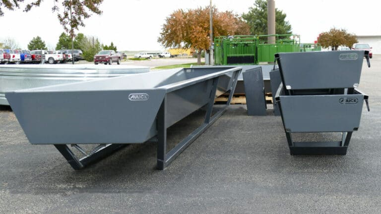 Aulick Industries Feed Bunks