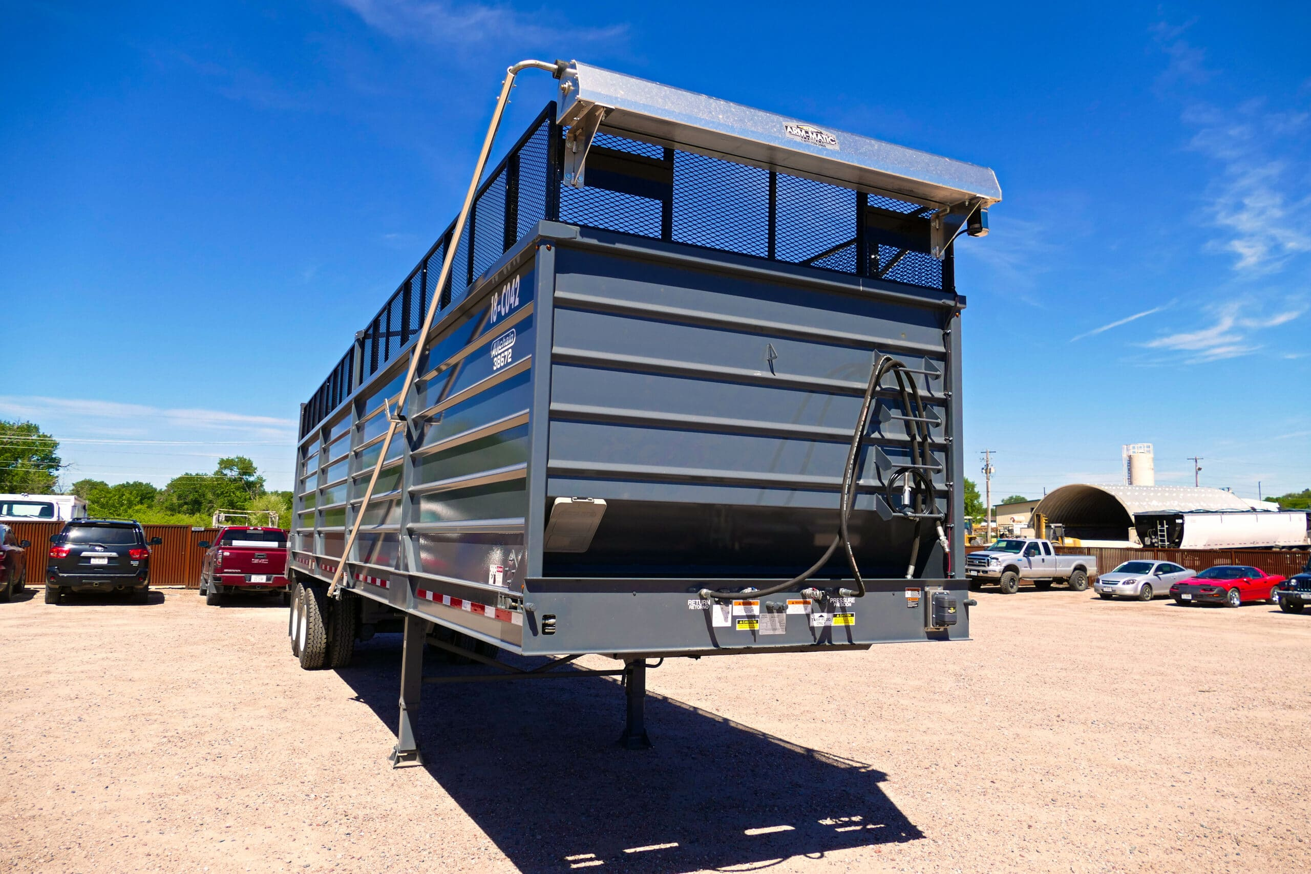 Aulick Silage Trailer