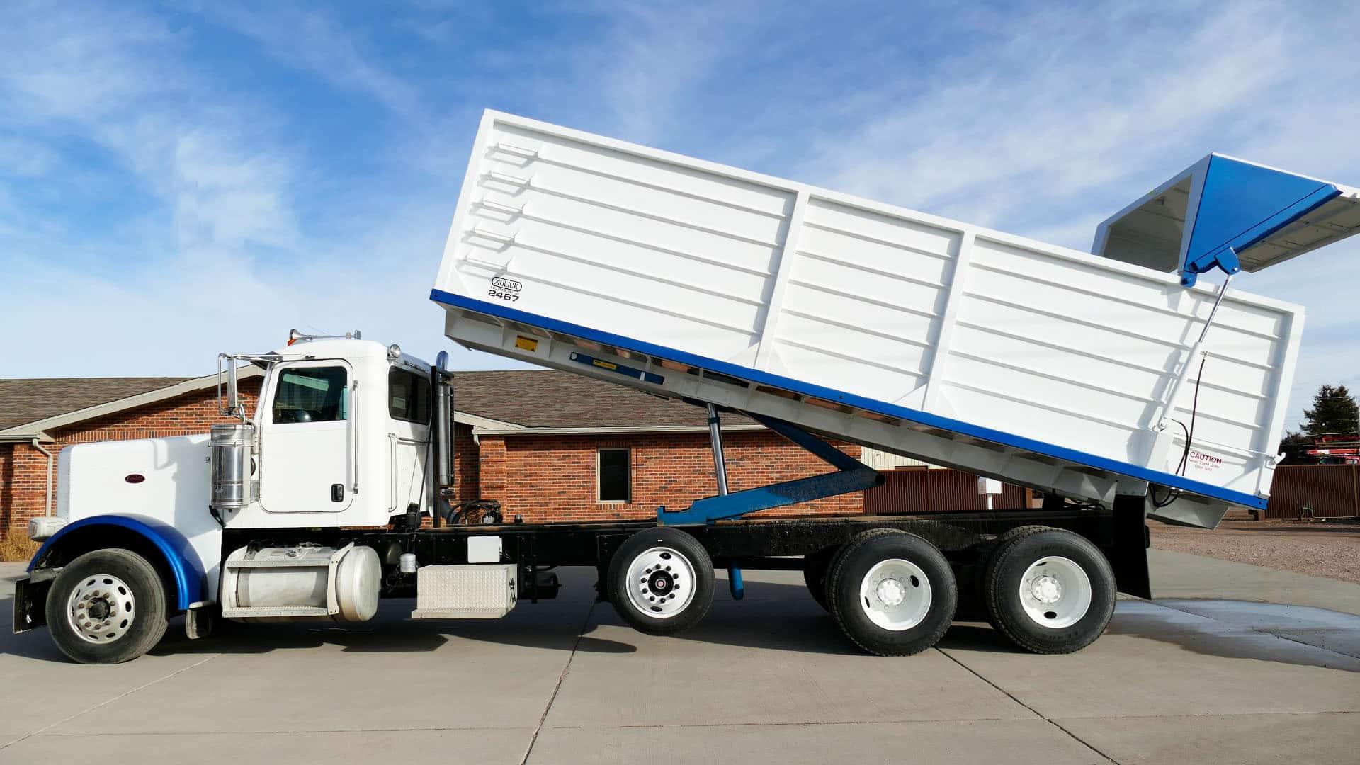 Aulick Farm Dump Trucks