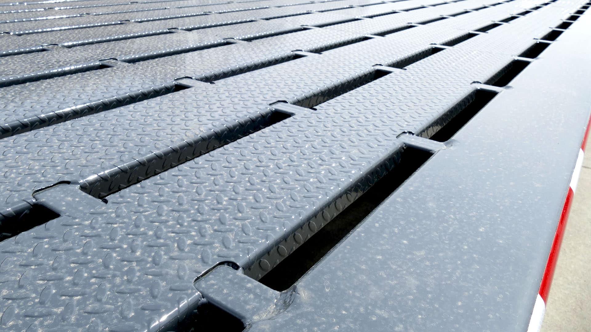 Gooseneck Flatbed Steel Grid