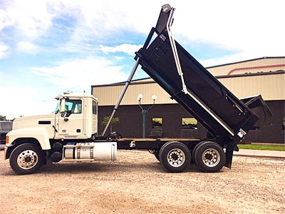 Aulick Steel Dump Truck Construction Box