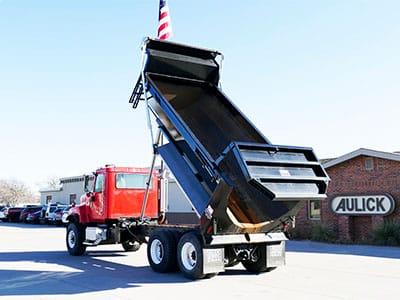 Dump Truck Construction Box