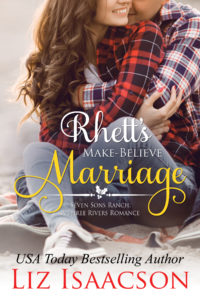 Rhetts Make Believe Marriage FRONT COVER centered holly