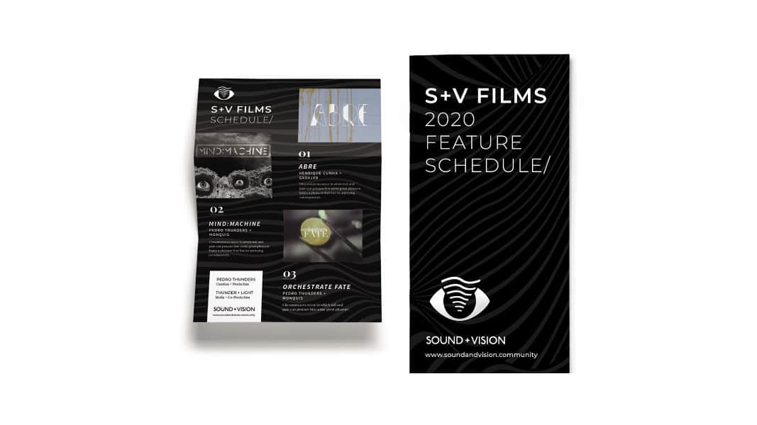 s+V films print pieces