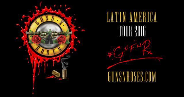 Guns N' Roses de gira en LatinoAmérica