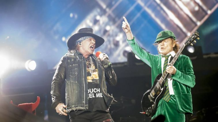 AC/DC toca 'Live Wire' por primera vez en 34 años