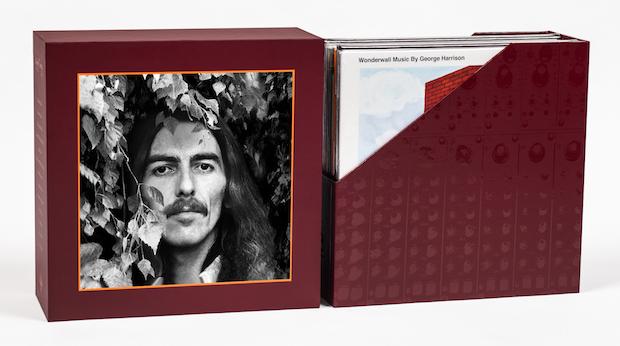 Toda la discografia de George Harrison en vinyl