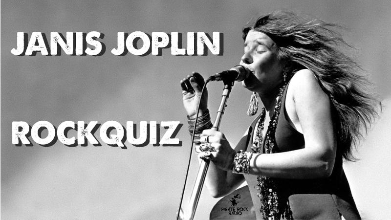 ROCKQUIZ ¿Que tanto conoces de Janis Joplin?