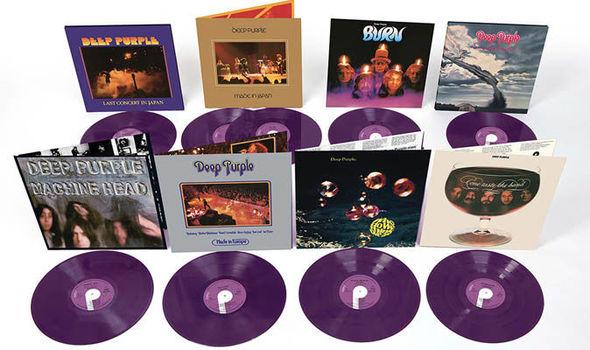 Álbumes clásicos de Deep Purple serán remasterizados en vinilo