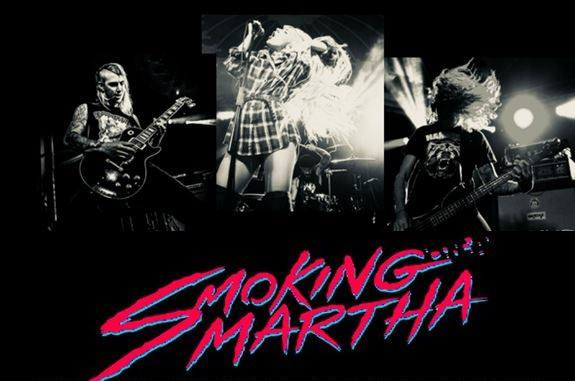 El Humeante Hard Rock de Smoking Martha