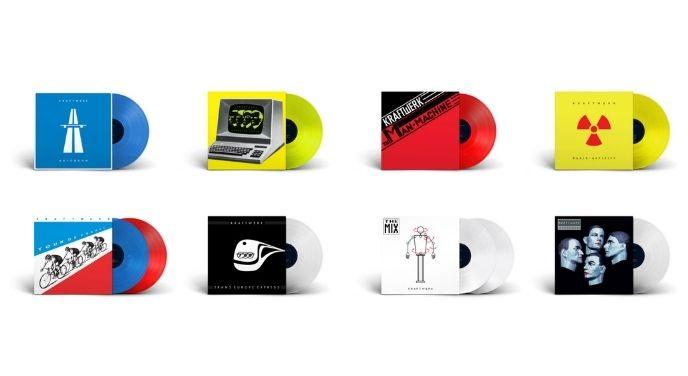 Kraftwerk anuncia reediciones de vinilos de colores