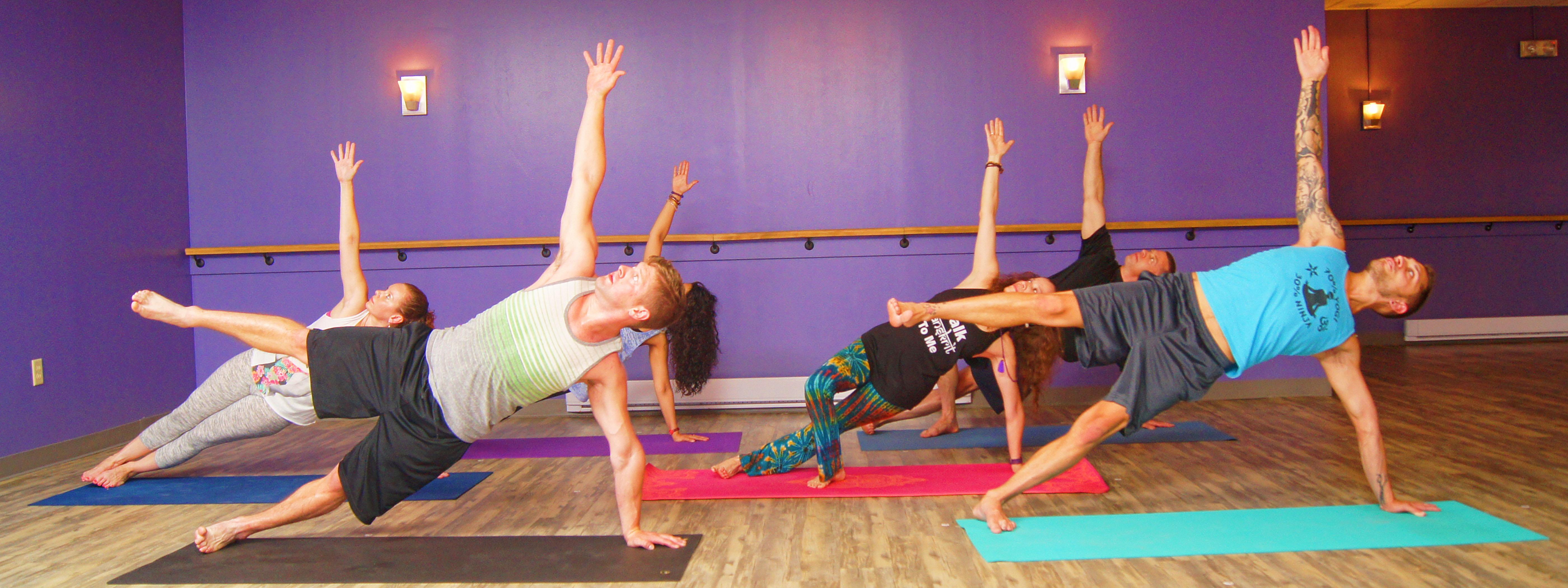 Styles Yoga Side Plank