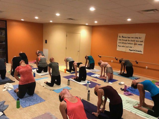 Bikram Hot Yoga Classes Posture
