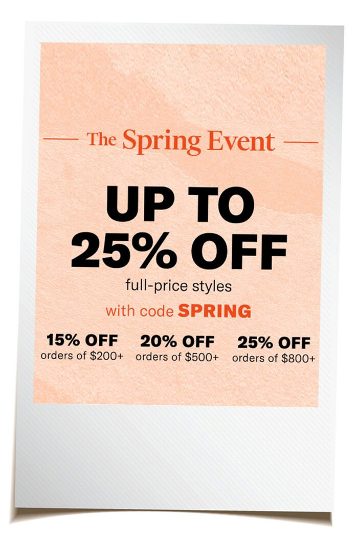 Shopbop Sale Alert:  Everything You Need For Spring