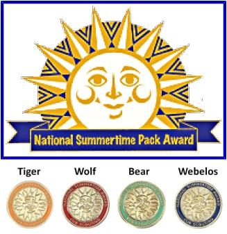 National Summertime Pack Award