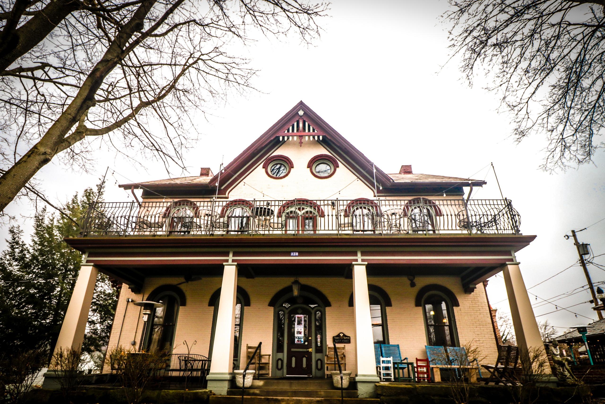 exterior the harmony inn