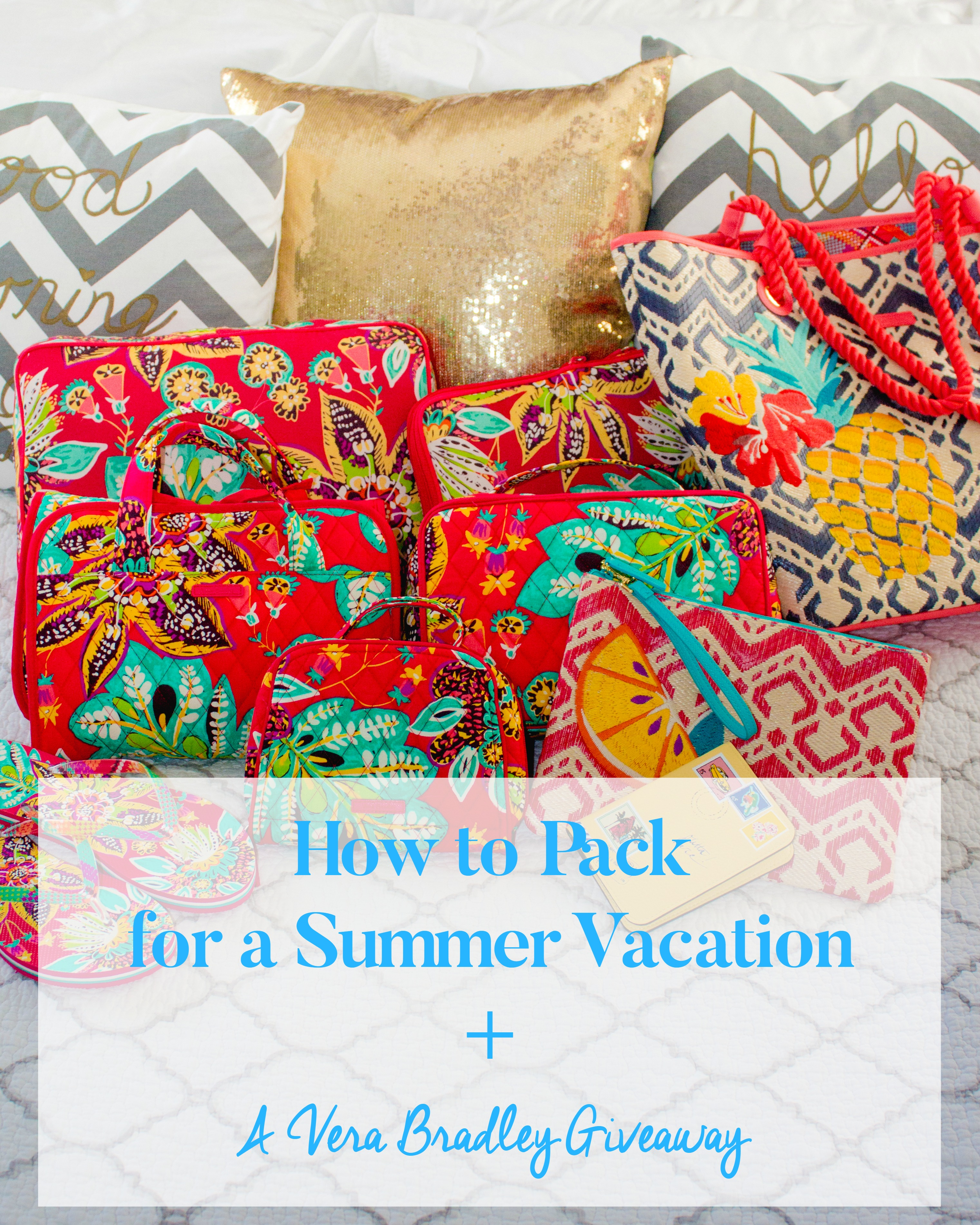 PACK SUMMER VACATION VERA BRADLEY