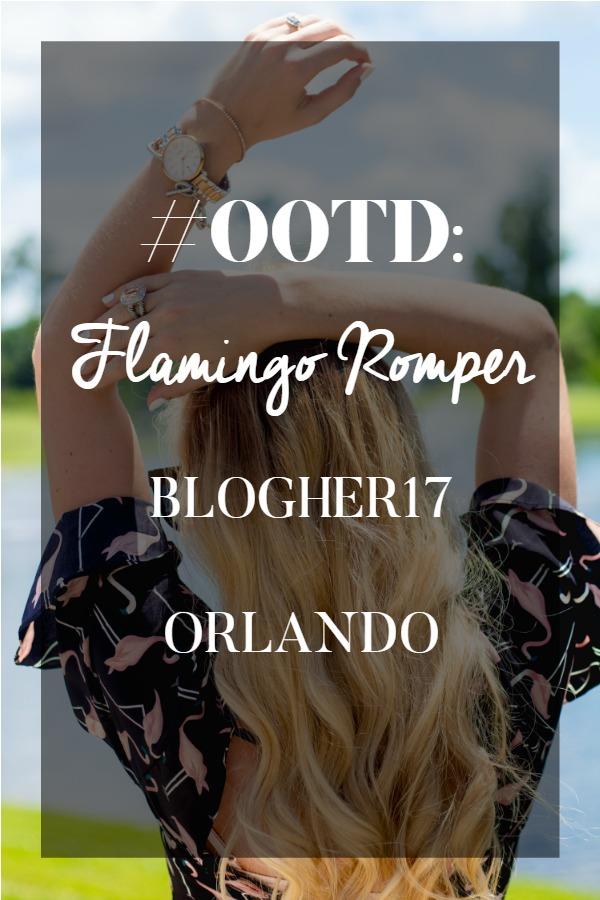 FLAMINGO ROMPER - BLOGHER17 ORLANDO