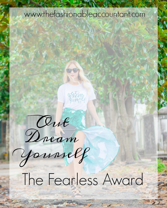 THE FEARLESS AWARD - OUTDREAM YOURSELF