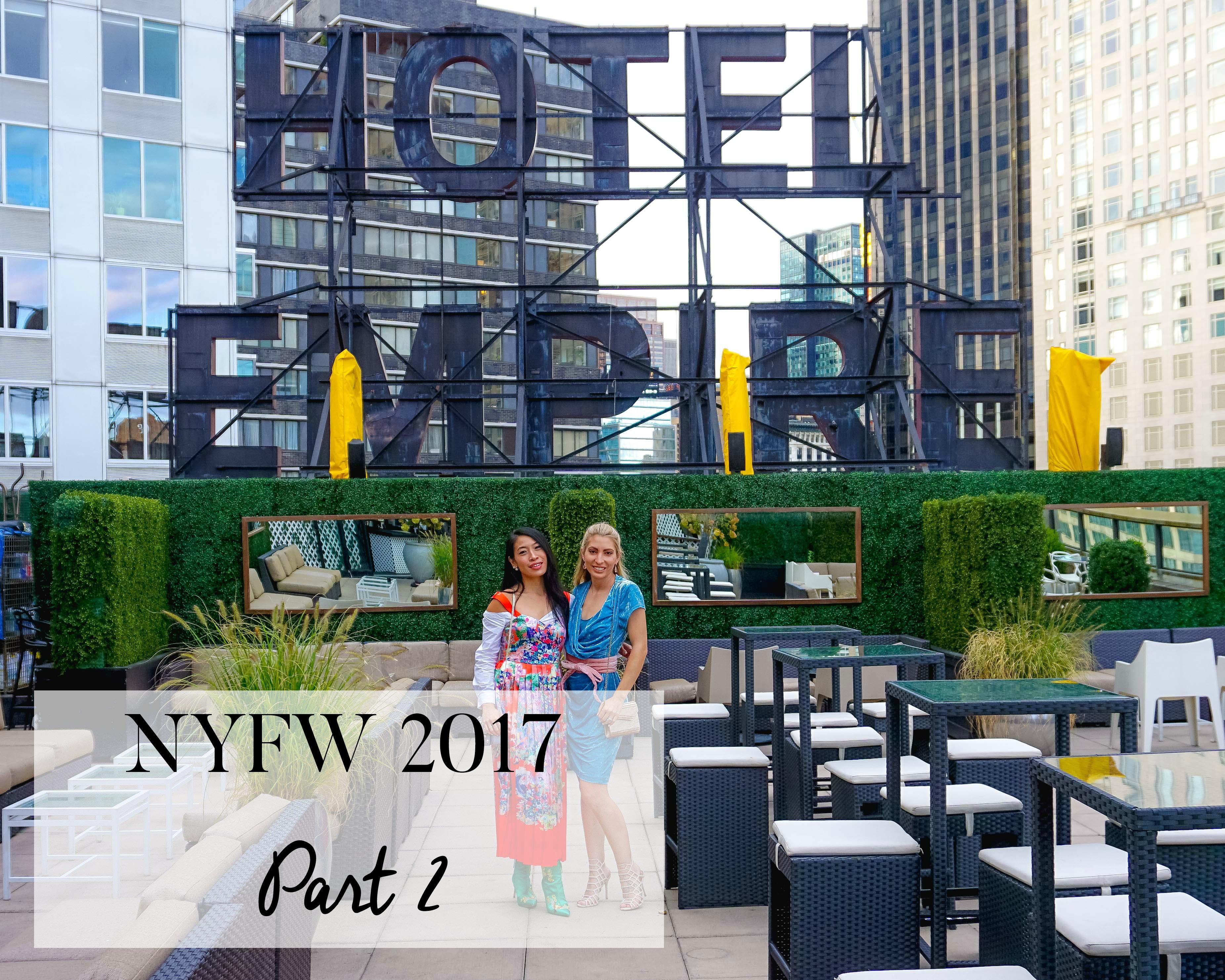 NYFW 2017- PART 2