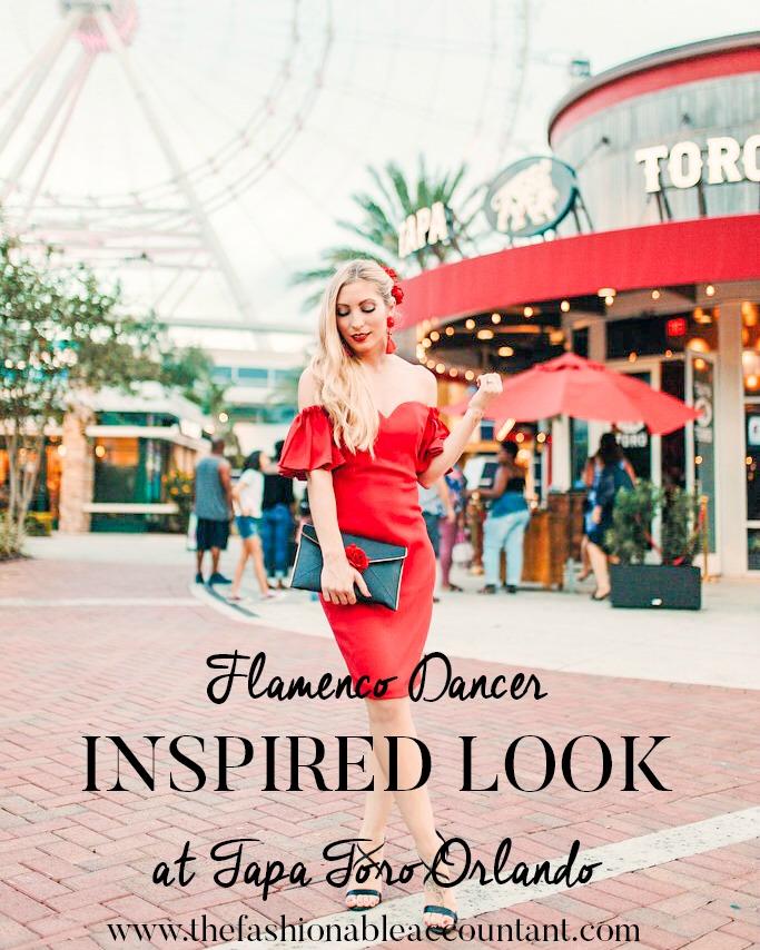 FLAMENCO DANCER INSPIRED LOOK