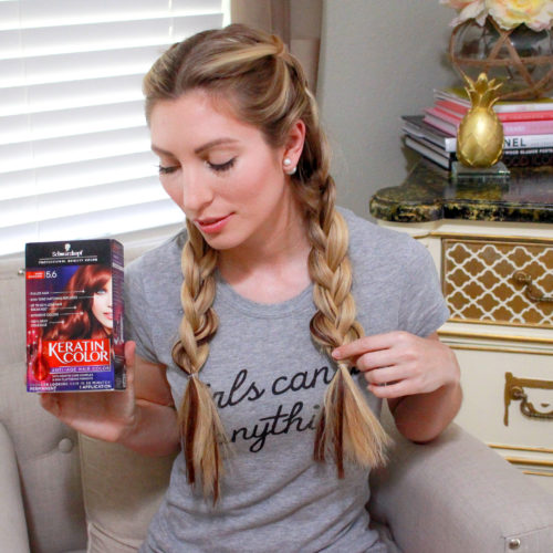 DOUBLE DUTCH BRAIDS USING EXTENSIONS