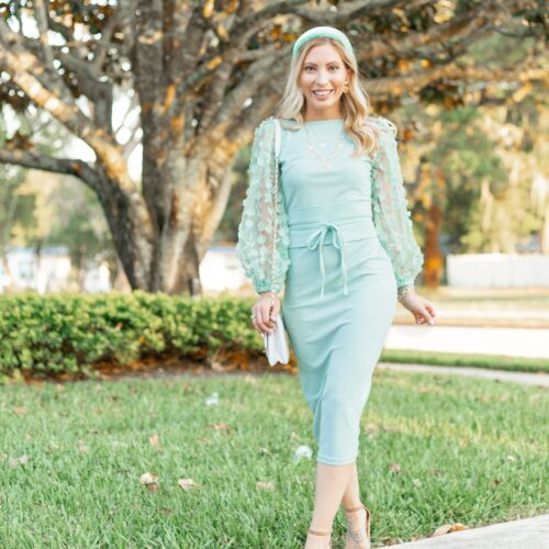 MINT OUTFITS FOR SPRING