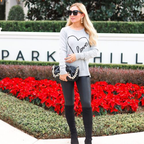 5 WAYS TO STYLE SPANX LEATHER LEGGINGS