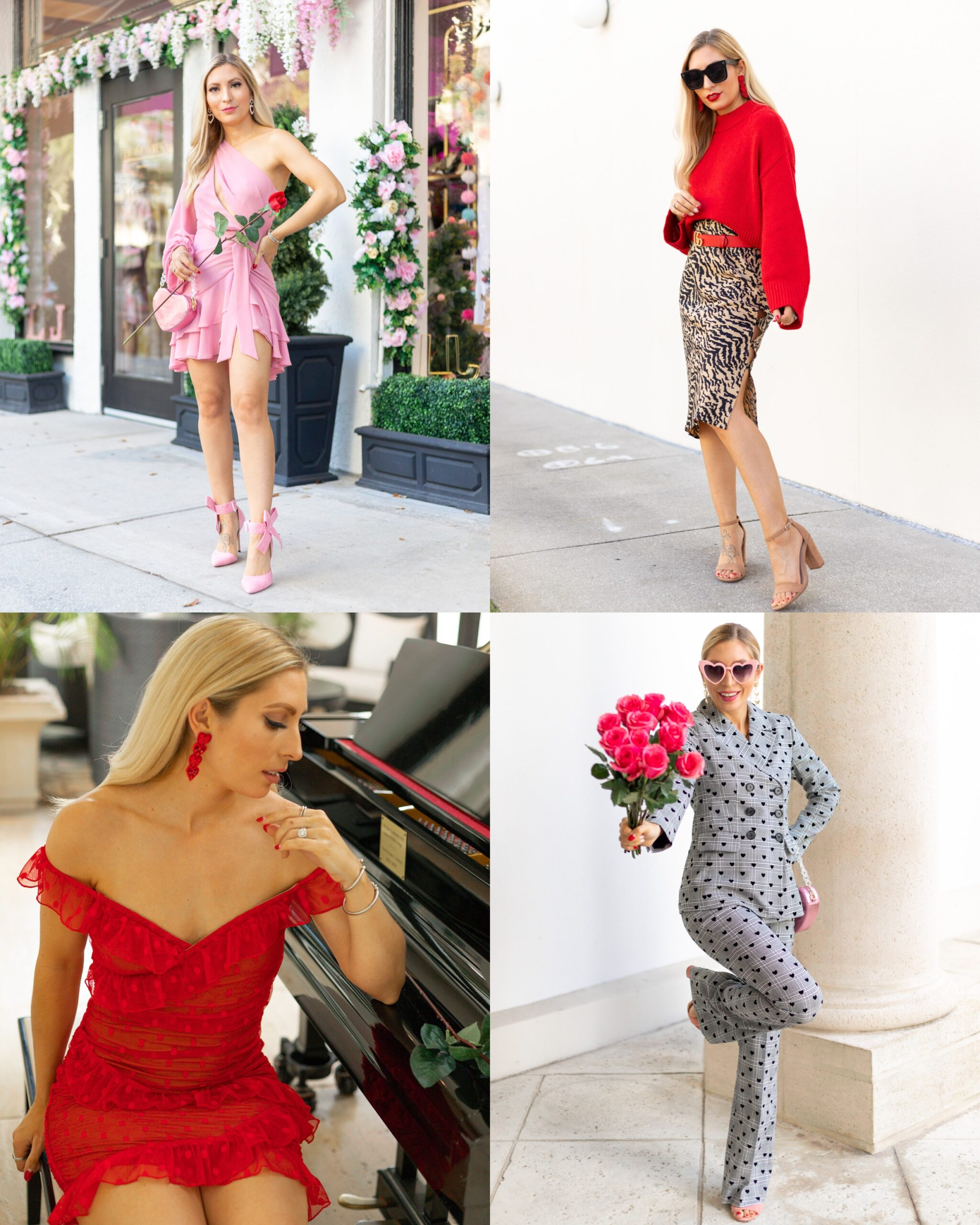 DRESSY VALENTINES OUFIT IDEAS