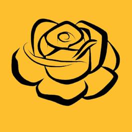 Orange Rose Table Sponsor