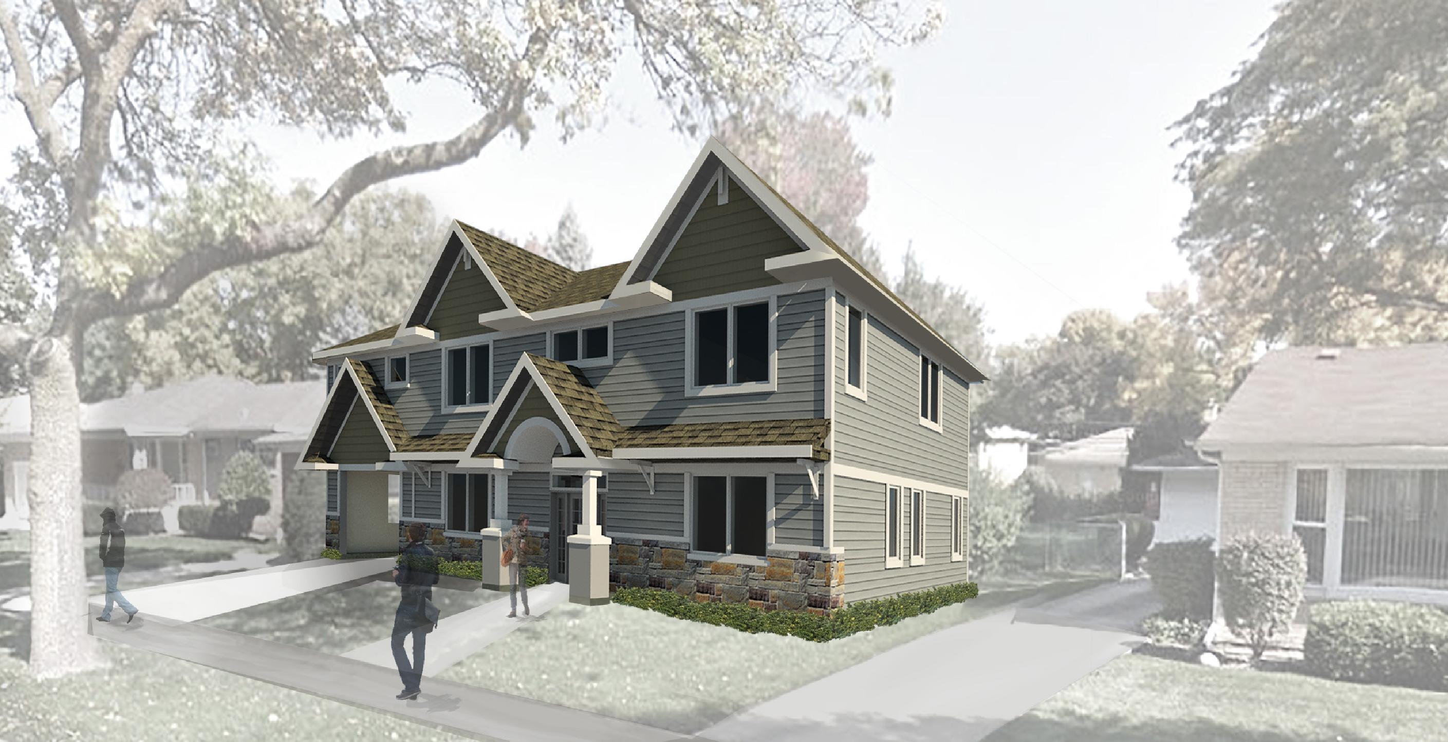 House/Residential Rendering