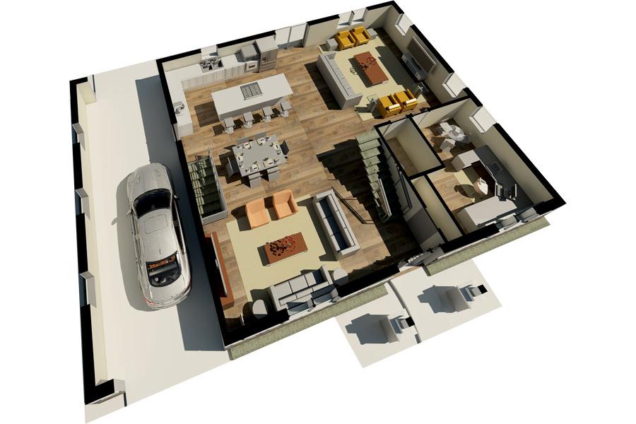 Arlington Heights First Floor Layout
