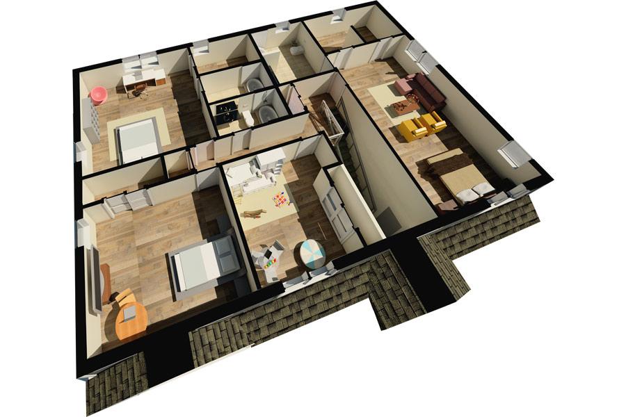 Arlington Heights Second Floor Plan