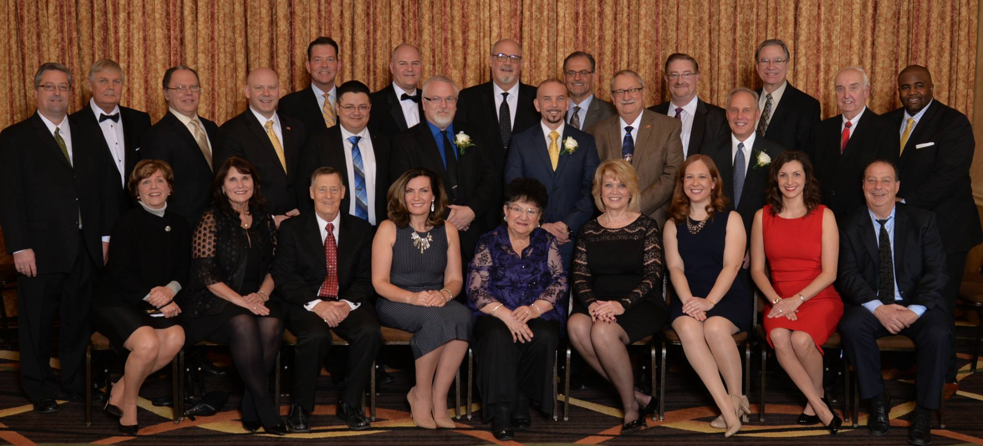 Oak Lawn Chamber Induction Ceremony Full Board Photo