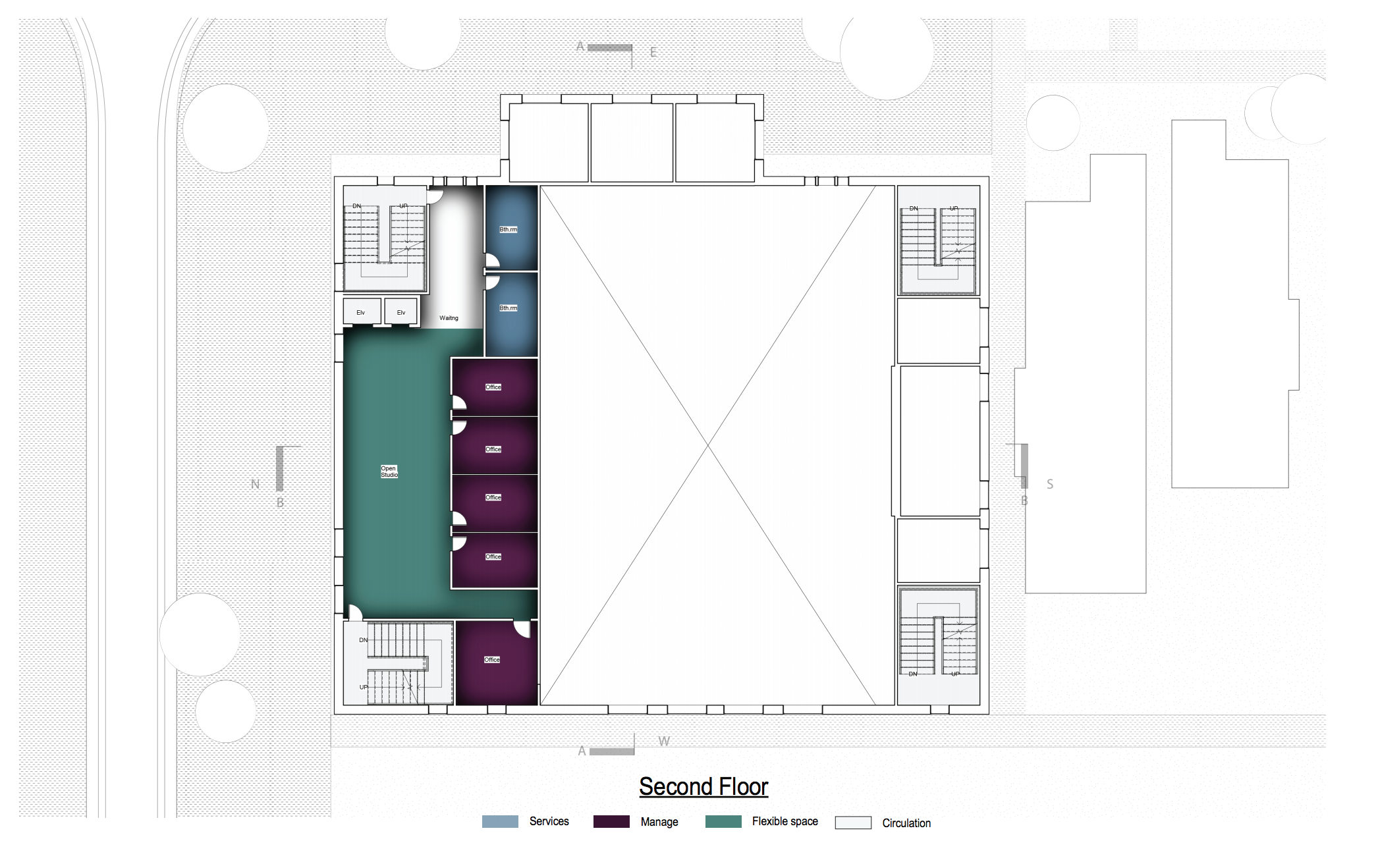 Site plan floor 2