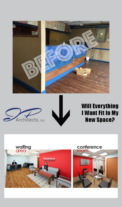 This Photo is an image of the business prior to our design and our design