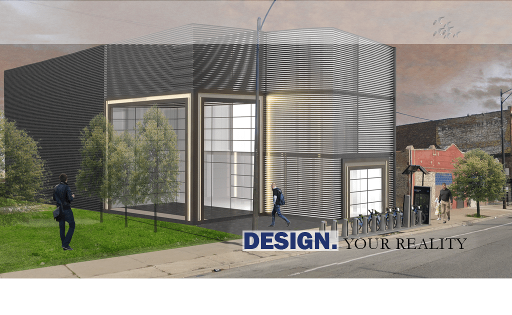 This is a rendering of technology incubator we designed for a client