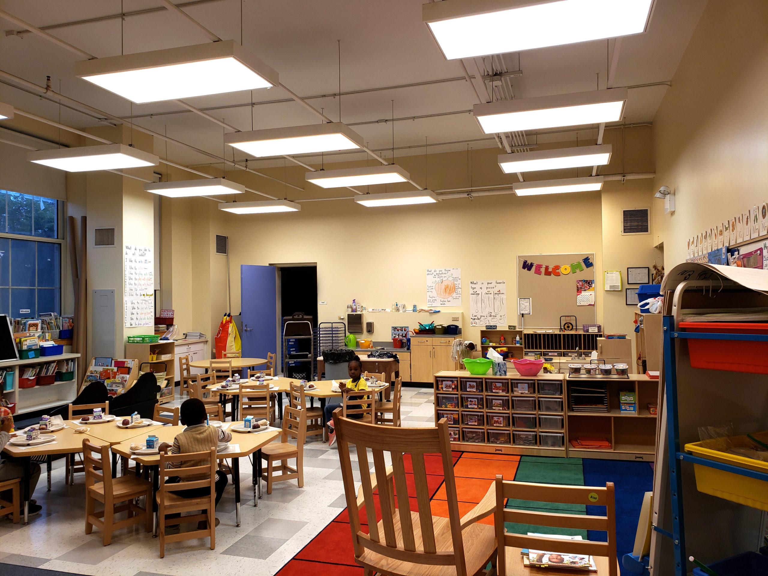 Chicago Public School Complete PreK Classroom Renovation