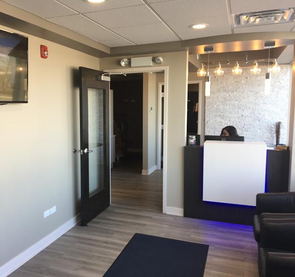Dental Office Reception and Lobby Area