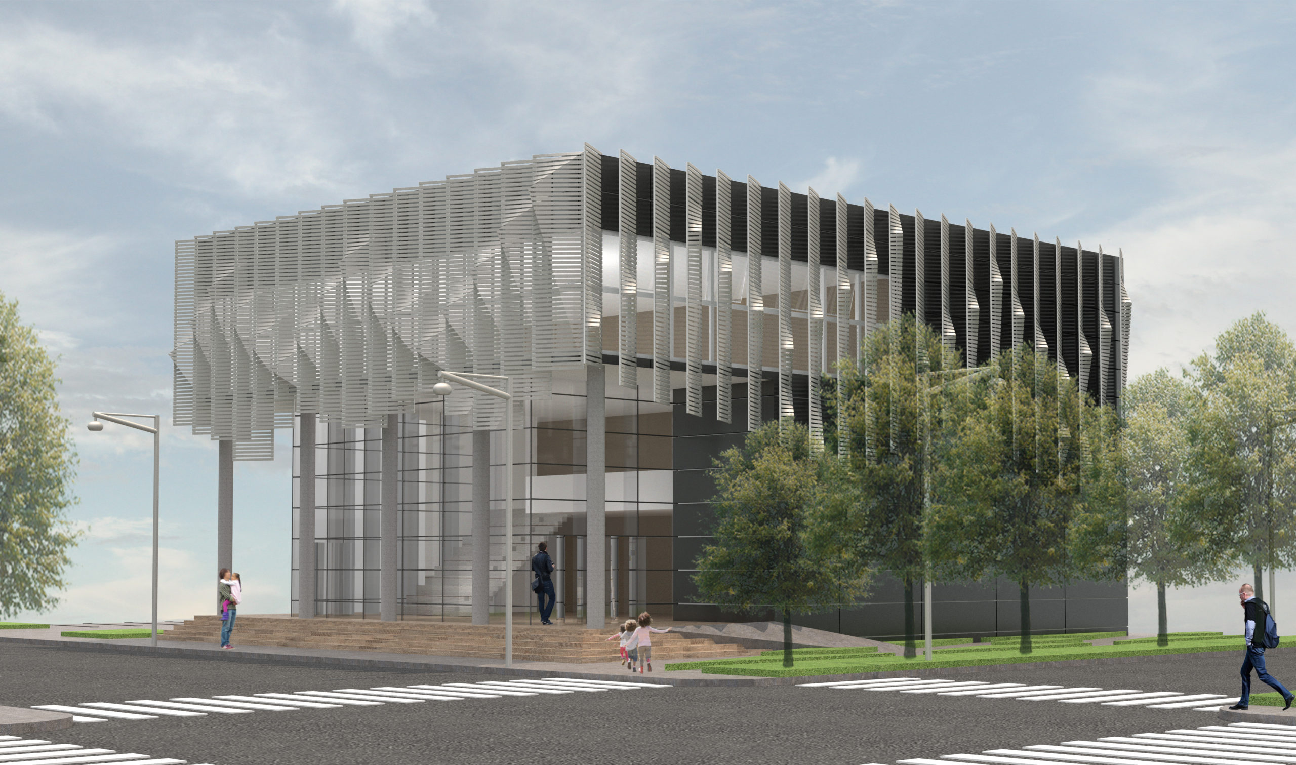 Performing Arts Center Rendering