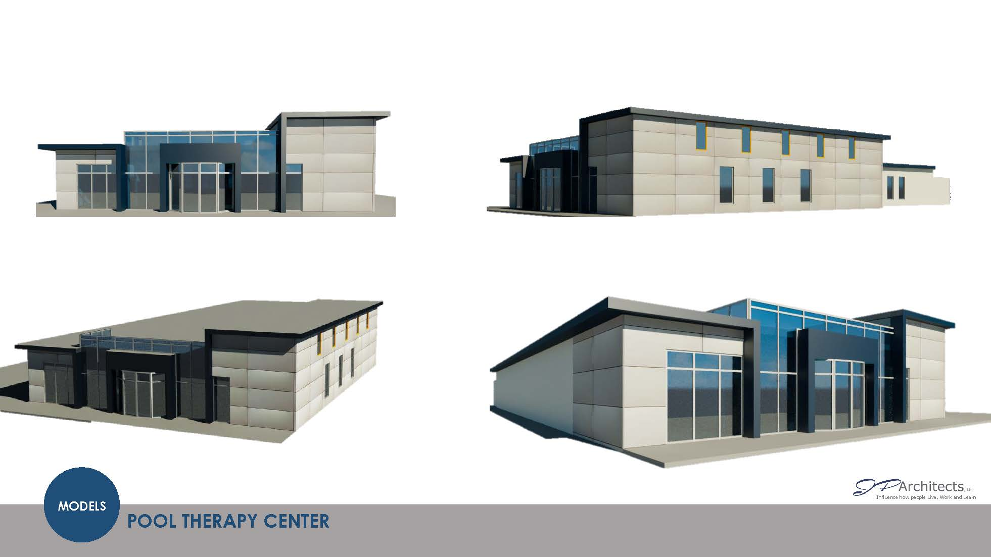 Second Design for Pool Therapy Center
