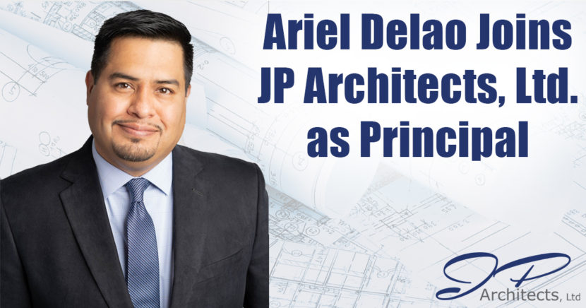 This is our cover photo for the press realease about Ariel Delao joining our team in a Principal Role.