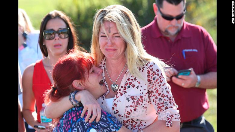 Who's Killing Us? Marjory Stoneman Douglas High School parents