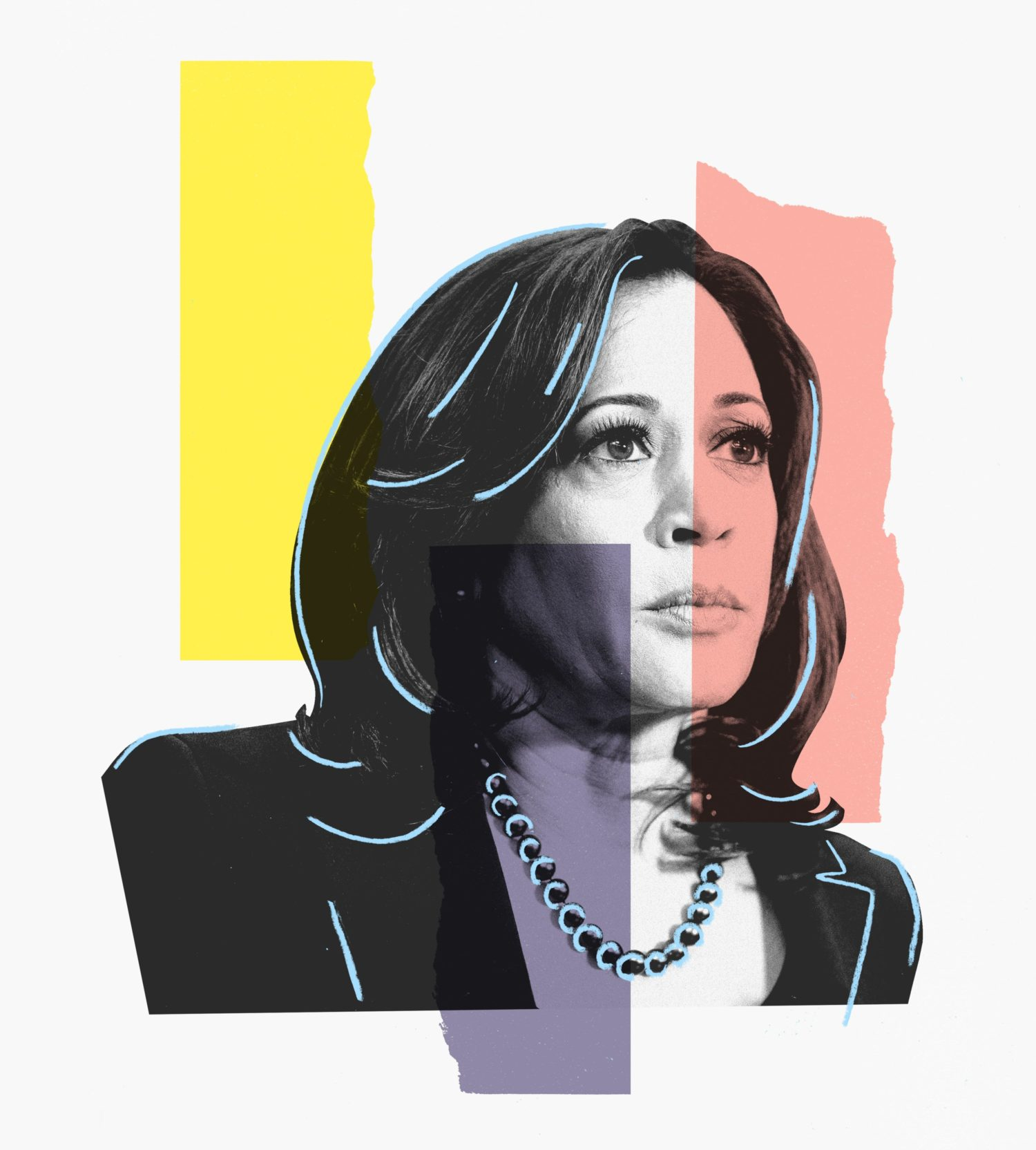 Sen. Kamala Harris Illustration