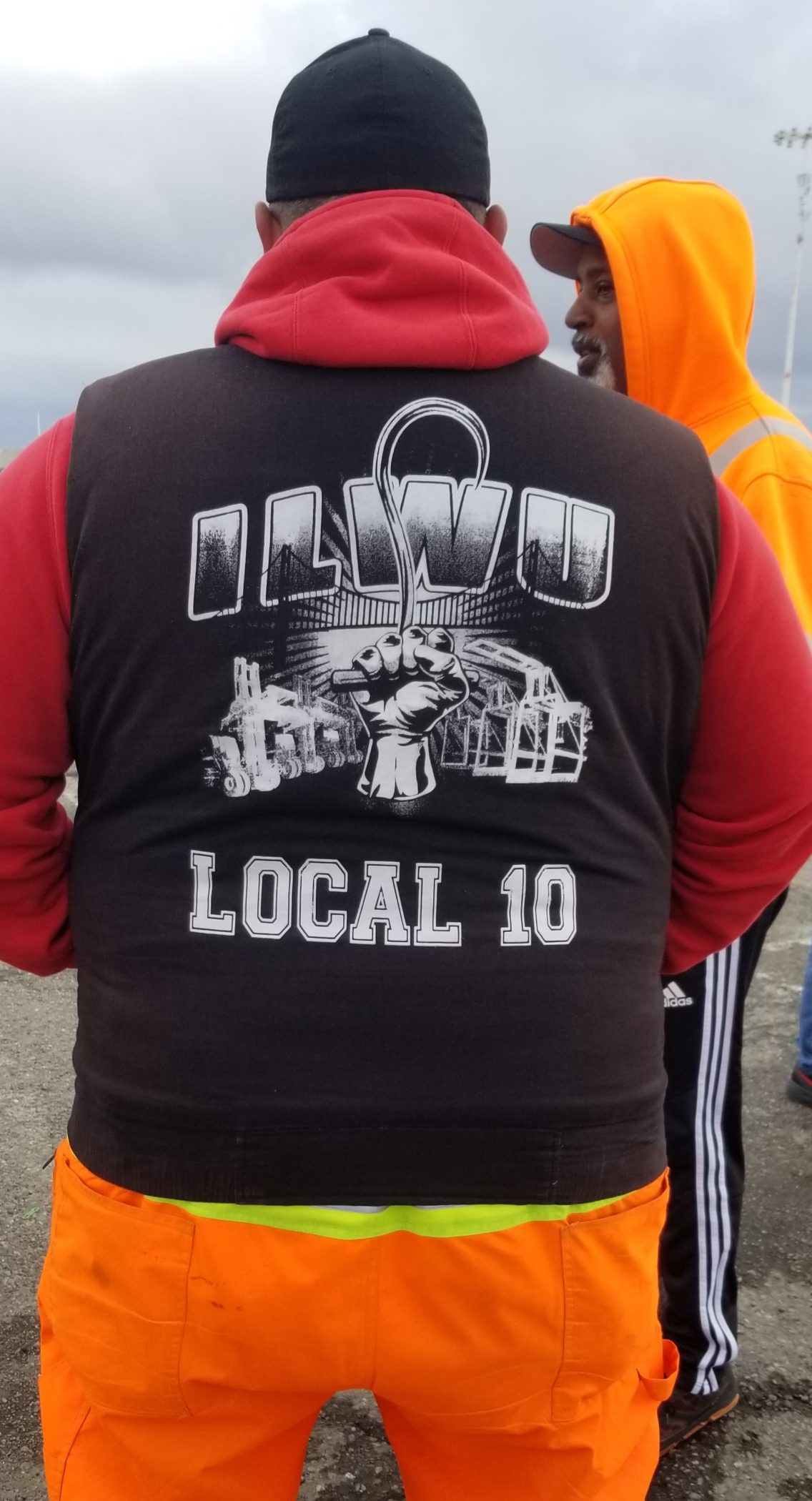 ILWU Local 10 President Trent Willis and his members fighting COVID-19
