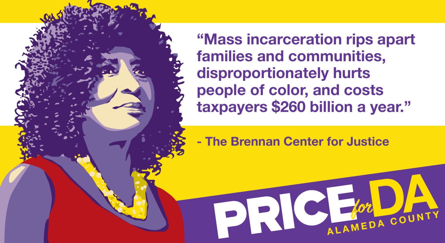 Mass incarceration rips apart families and communities, disproportionately hurts people of color, and costs taxpayers $260 billion a year.